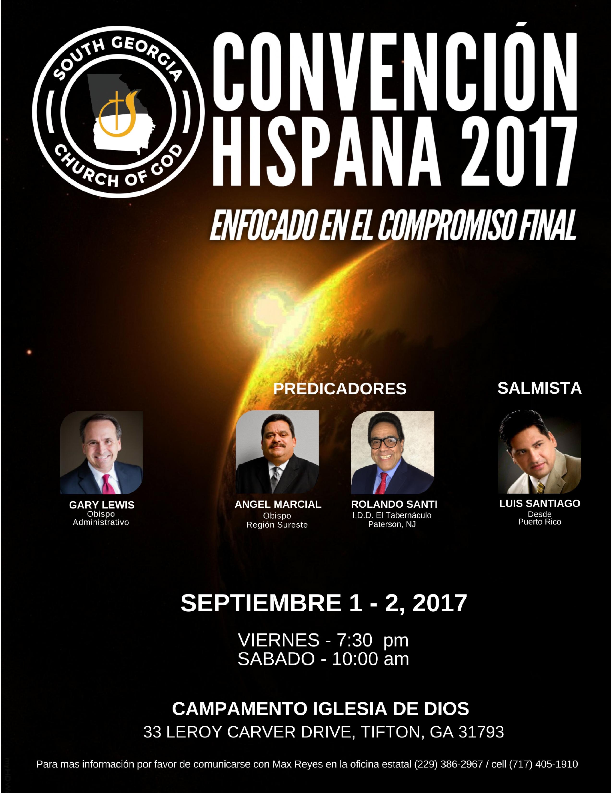 SGA CONVENCION HISPANA 2017