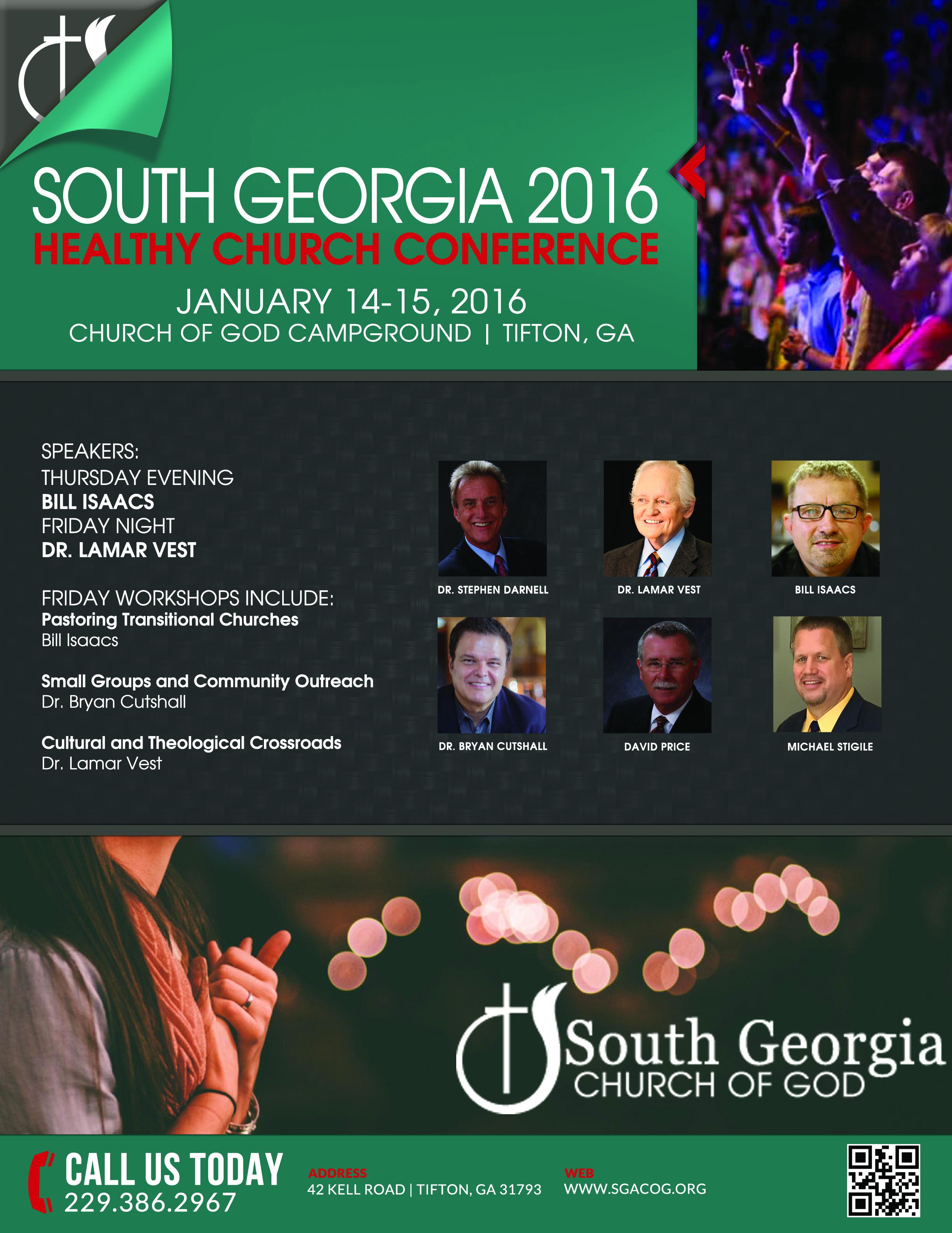 SGA Winter Prayer Conference 2016